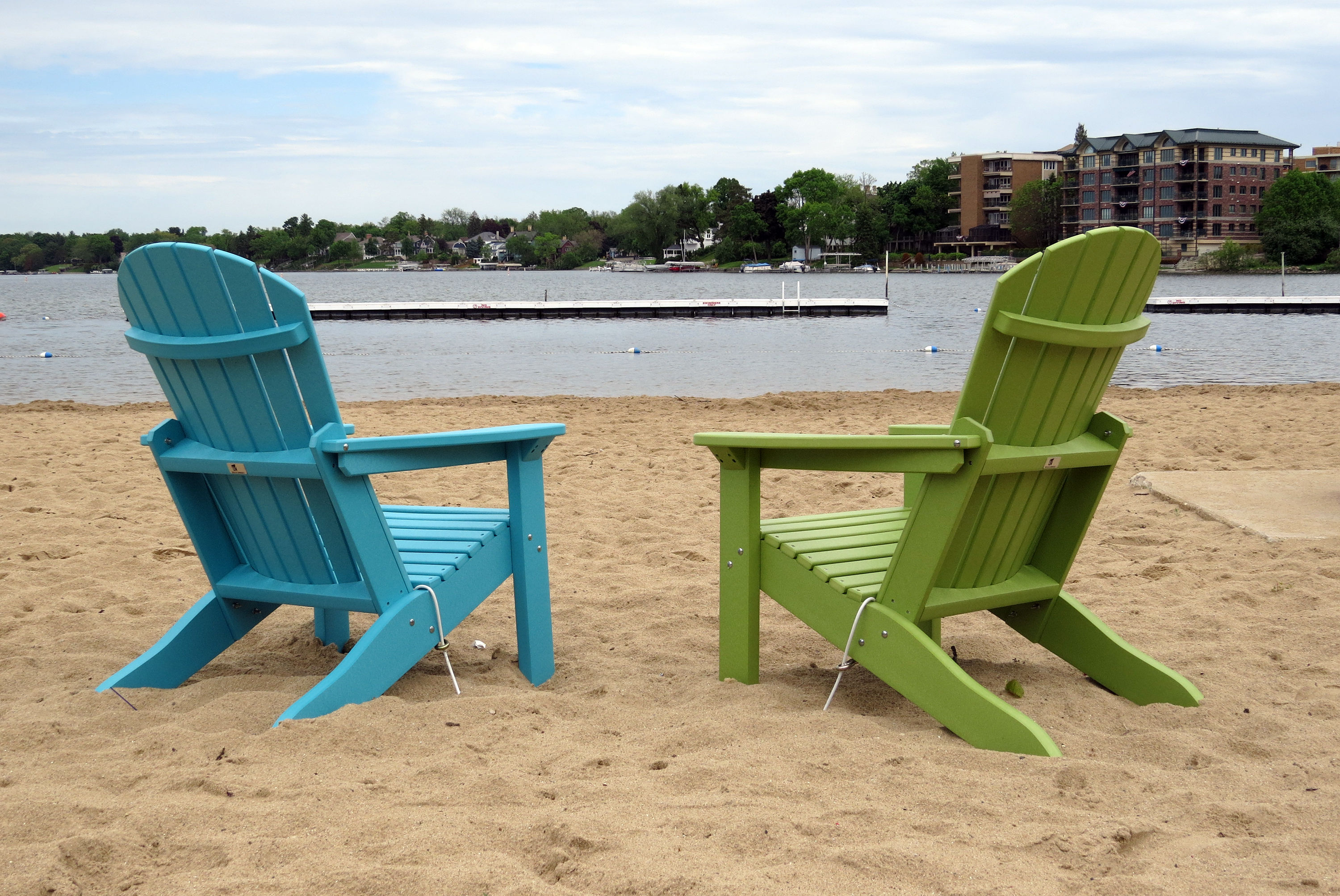 Adirondack Chairs at City Beach